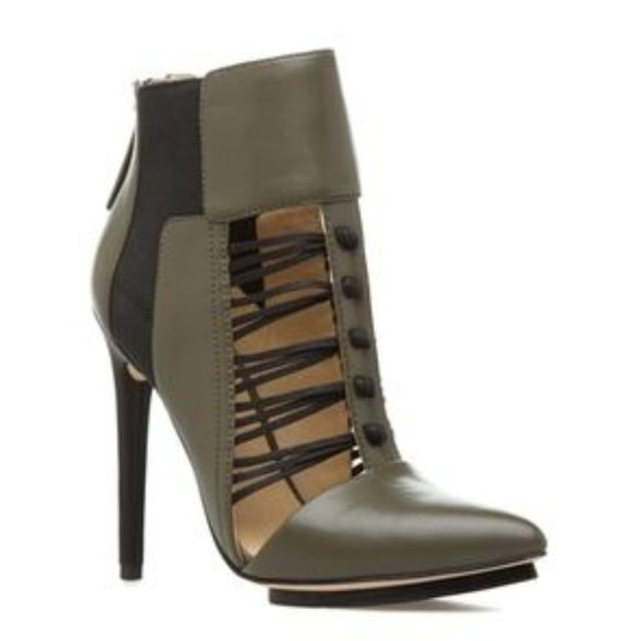 GX by Gwen Stefani Shoes - GX by Gwen Stefani Akiko Olive Booties